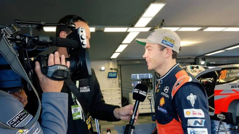 WRC – In Spagna Paddon conquista lo shakedown