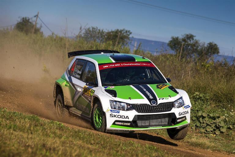 WRC2 – Doppietta Skoda al Rally di Spagna