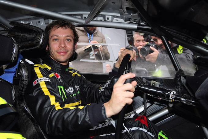 Monza Rally Show, parla Valentino Rossi