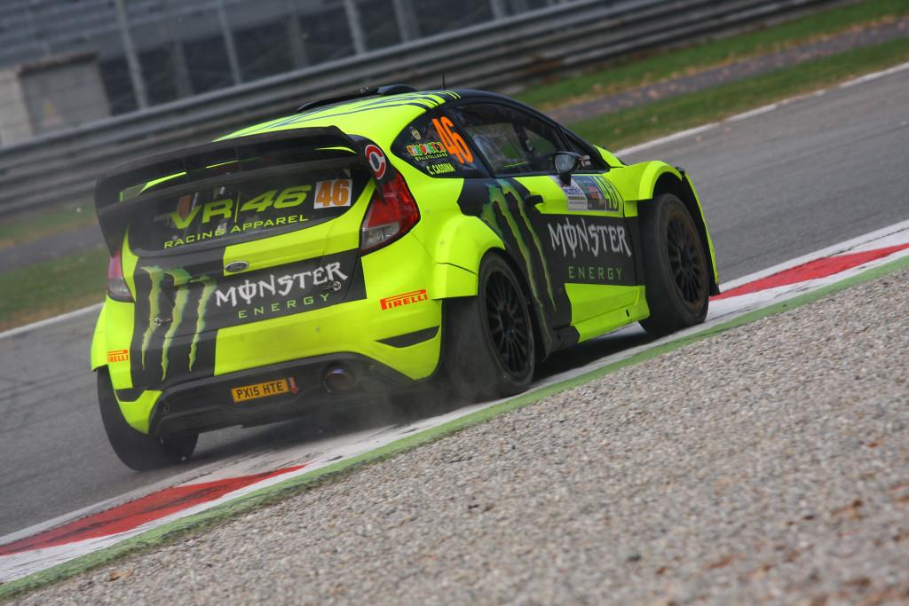 Monza Rally Show Day 2: Rossi Passa in Testa e Allunga