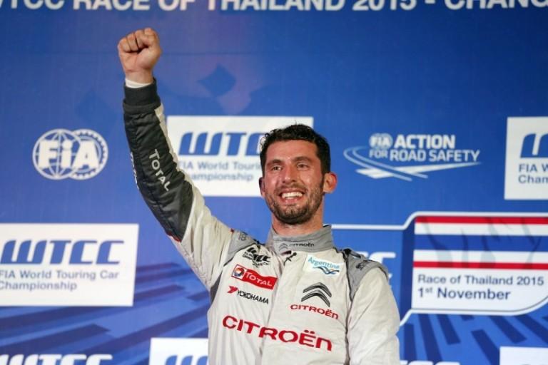 WTCC – In Thailandia Lopez si laurea campione per la seconda volta