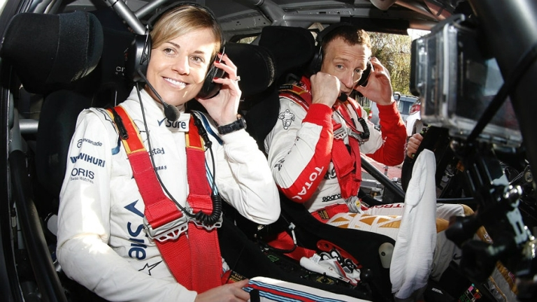 WRC – Meeke ospita Susie Wolff sulla sua DS3