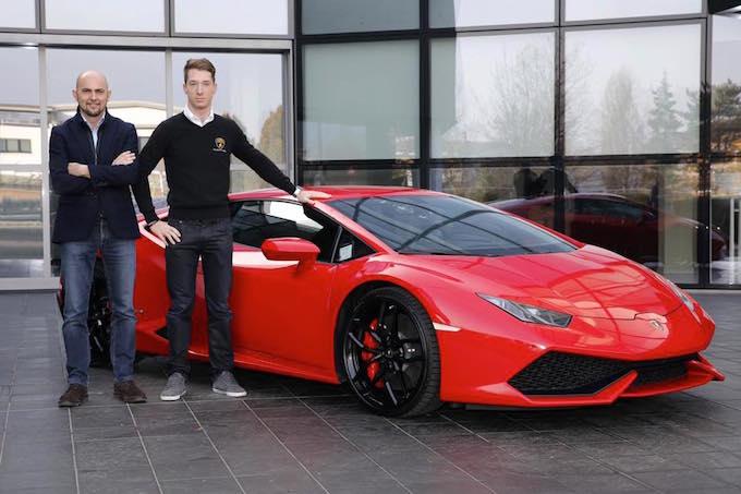 Bortolotti e Lamborghini insieme fino al 2019