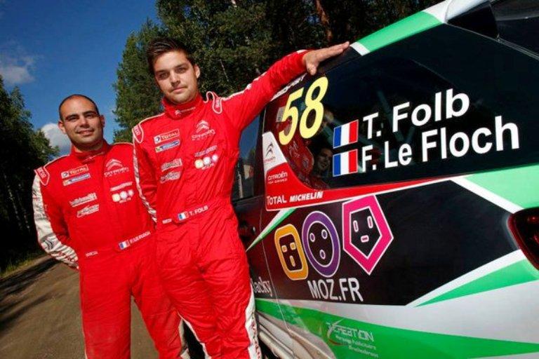 WRC – La Loeb Racing sceglie l'alsaziano Folb per il programma Junior