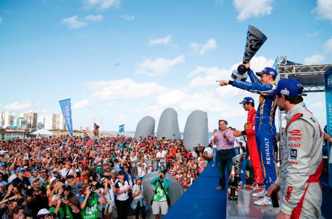 Formula E – Punta Del Este: Grande Vittoria Di Buemi che Rimonta da Quinto a Primo