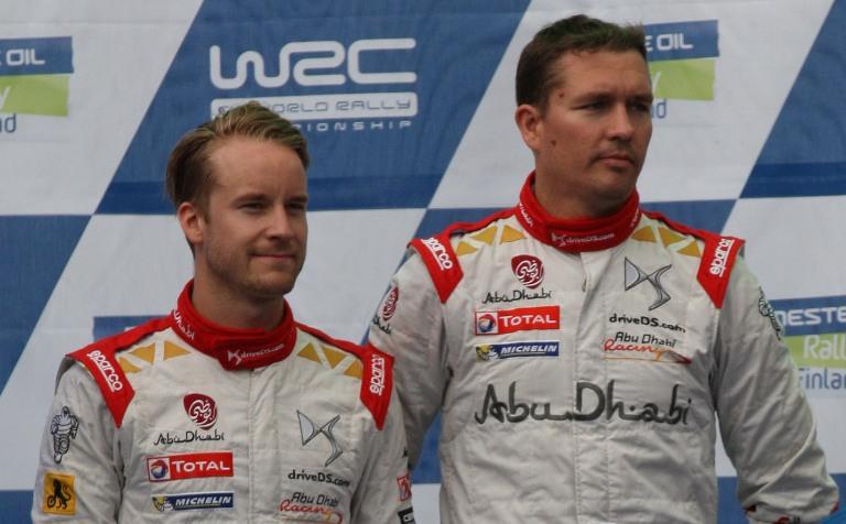 WRC – Ostberg scaricato dal navigatore Andersson