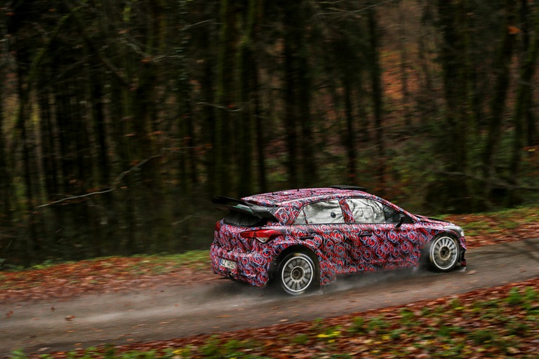 WRC – La Hyundai prosegue i test in Francia