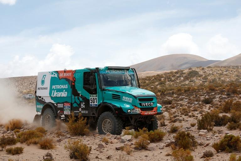 Dakar 2016 – Iveco trionfa nella quarta tappa