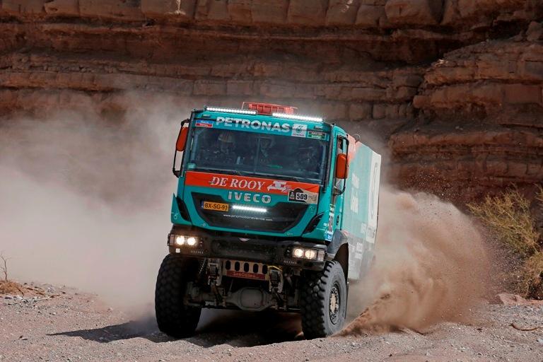 Dakar 2016 – Iveco al via con  De Rooy, Loprais e Vilagra
