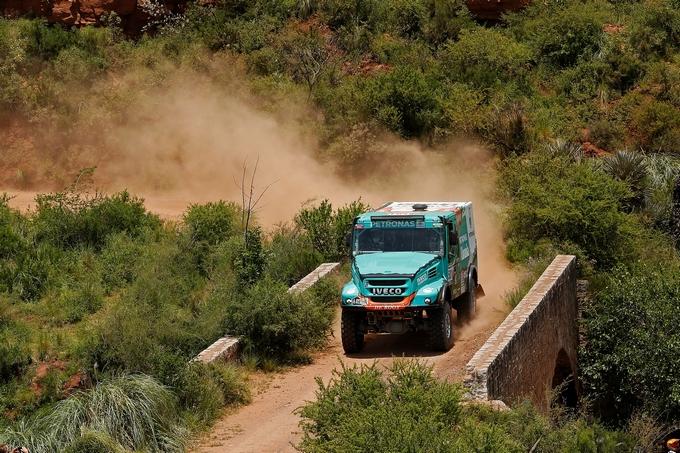 Dakar 2016 – Iveco e De Rooy terzi nella seconda tappa