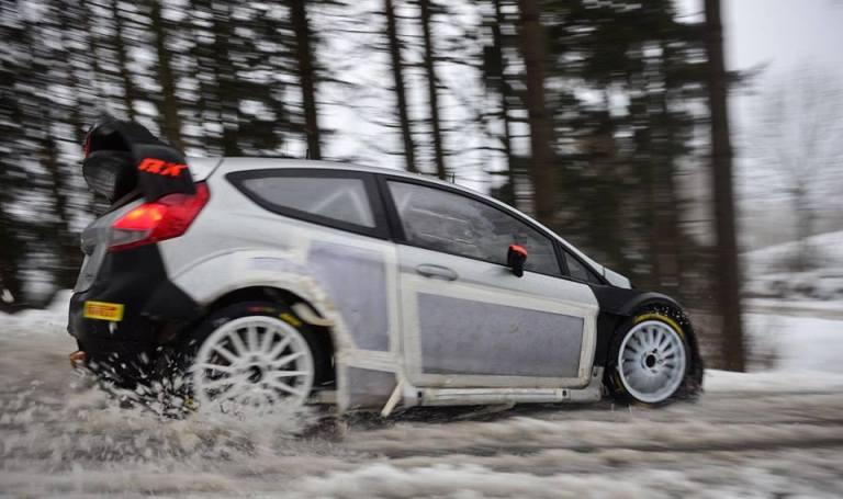 WRC – Un piccolo incidente abbrevia i test pre-Montecarlo di Kubica