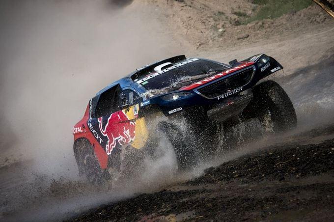 Dakar 2016 – Loeb fa centro nella seconda giornata