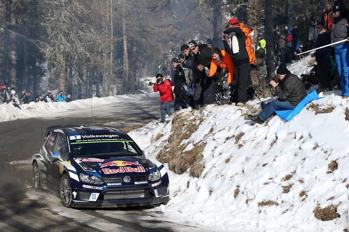 WRC – Fuori Meeke e Latvala. Ogier vola verso la vittoria del Montecarlo