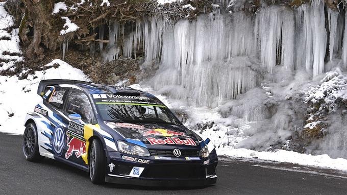 WRC – Ogier chiude in testa la seconda giornata al Montecarlo