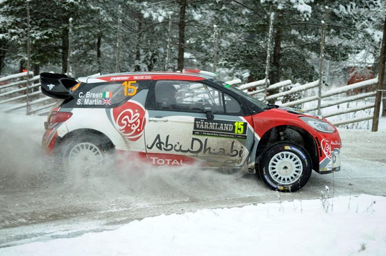 """WRC – Breen: """"In Svezia con la DS3 mi sembrava di essere alla playstation"""""""