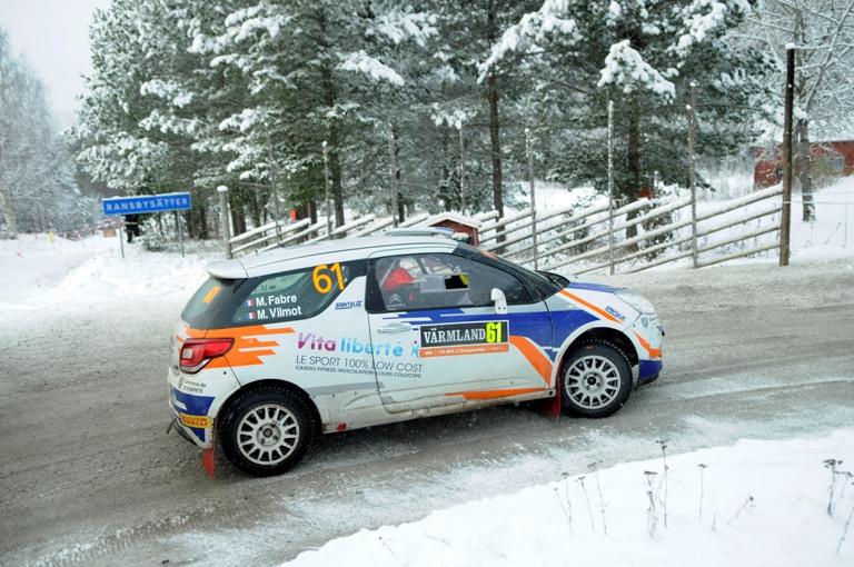 WRC – In Svezia Pirelli vince con Fabre