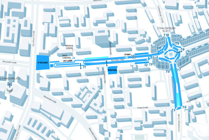 Formula E – L'e-prix di Germania si terrà in Centro a Berlino