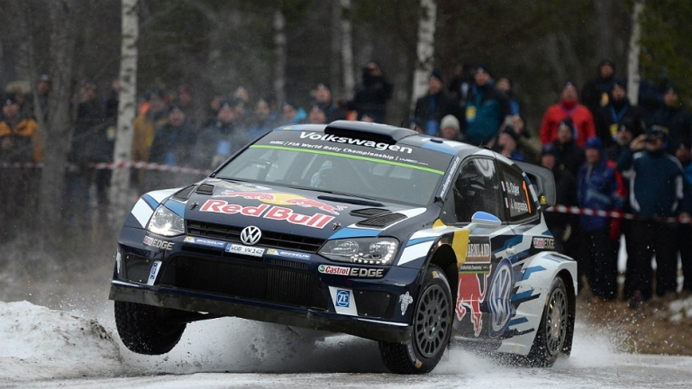 WRC – Ogier domina le prime tre ps in Svezia