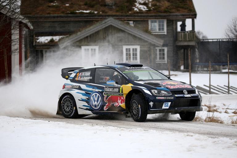 WRC – Rally di Svezia, Ogier chiude in testa la prima giornata
