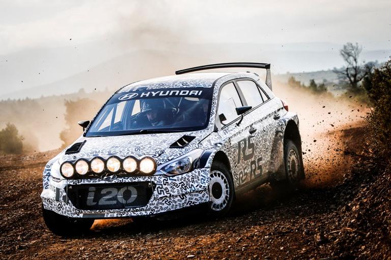 WRC – Tre giorni di test per la Hyundai i20 R5
