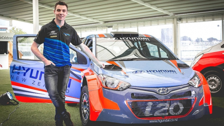 WRC- Paddon crea lo Hyundai New Zealand Rally Team