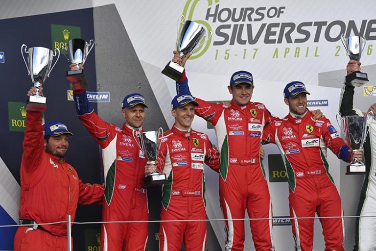 WEC –  Trionfo della Ferrari 488 GTE a Silverstone