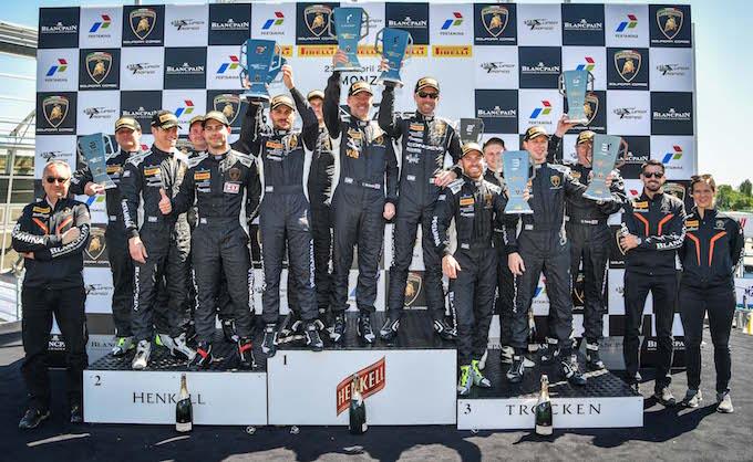 Lamborghini Blancpain Super Trofeo: buona la prima!