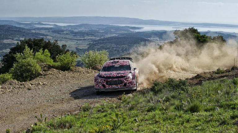 WRC – Citroen in Francia per testare la nuova auto