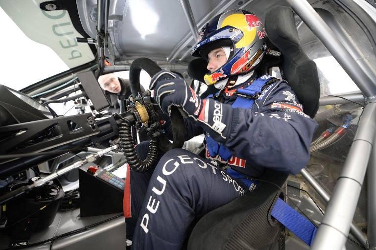 WRX – Loeb prova la Peugeot 208 in Francia