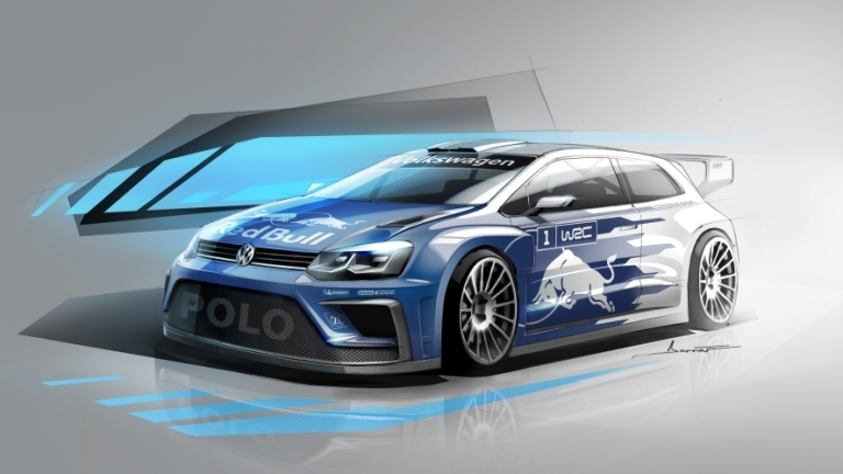 WRC – La Volkswagen svela la Polo del 2017