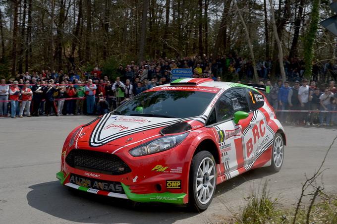 BRC al Rally d'Alba con Jimmy Ghione e Giandomenico Basso