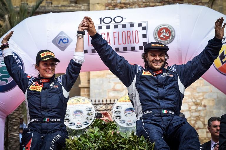 Andreucci fa sua l'edizione 100 della Targa Florio