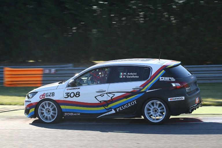 CIT – Doppio podio ad Adria per la Peugeot 308 GTi