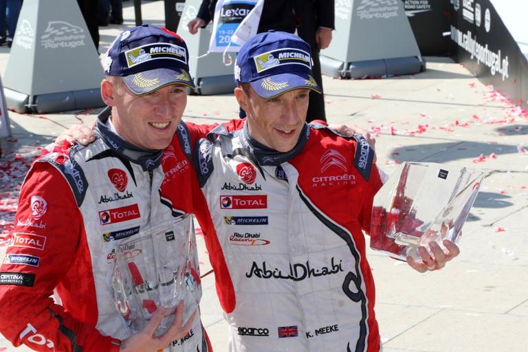 """WRC – Meeke: """"Nel gruppo dei pochi che hanno vinto due gare!"""""""
