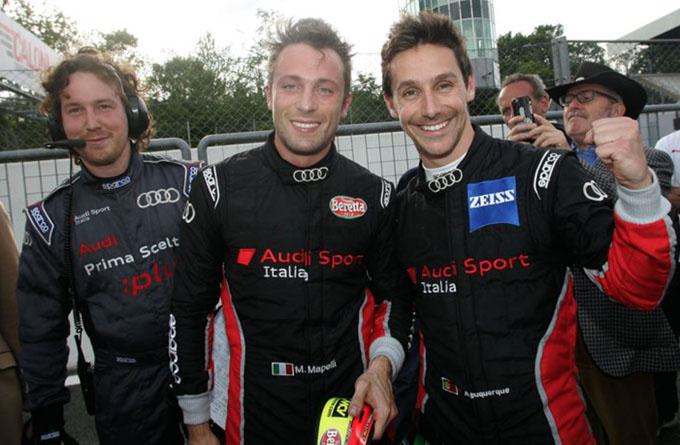 C. I. GT – Monza: una vittoria a testa per l'Audi di Mapelli-Albuquerque e per la Ferrari di Venturi-Gai
