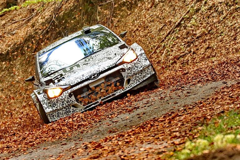 WRC – Test italiano per la Hyundai R5