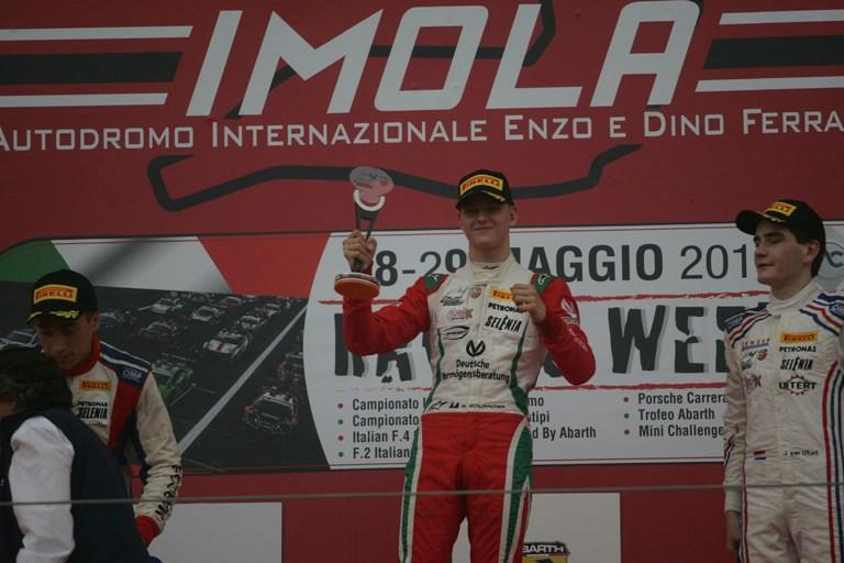 F4 Italia – Mick Schumacher vince Gara 2  Imola