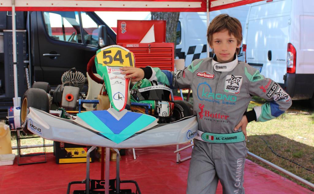 Majorette sponsor Ufficiale di Mattia Caminiti nei kart