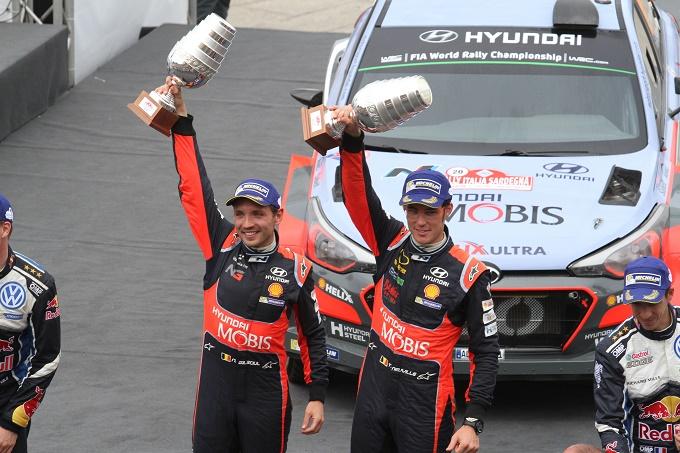 """WRC – Neuville: """"Successo meritato. Grazie alla Hyundai"""""""