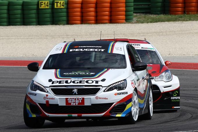 Peugeot 308 Mi16: doppio ruggito del leone con Arduini-Gaiofatto nel CIT