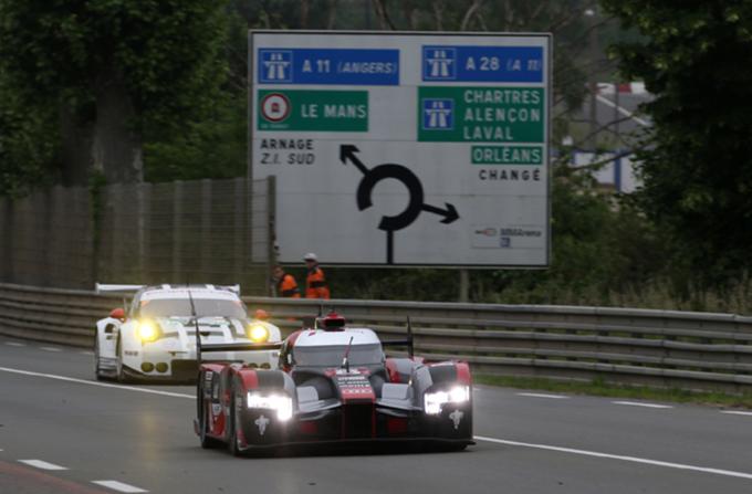 WEC – Le Mans: Di Grassi batte le Porsche nei test ufficiali