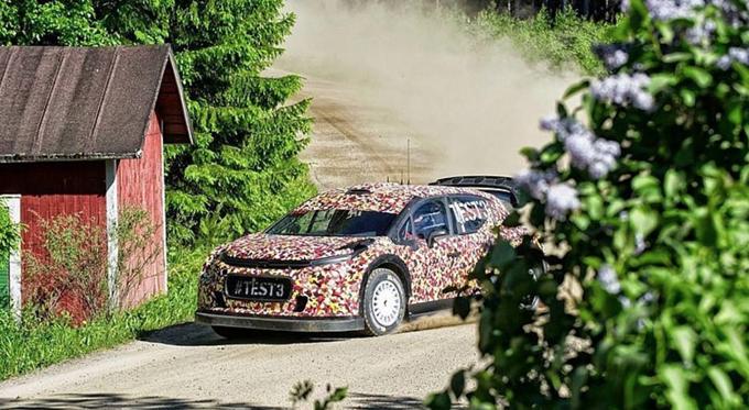 WRC – Prosegue lo sviluppo della nuova Citroen C3 2017 in Finlandia con Kris Meeke