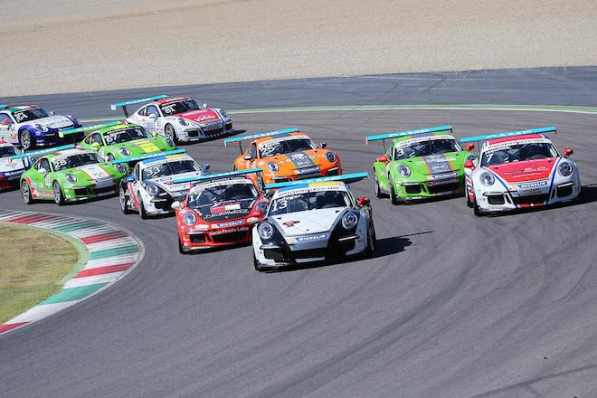 Porsche Carrera Cup Italia: tripletta di Ledogar al Mugello