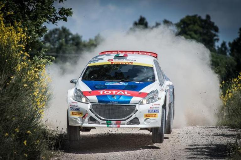 CIR – Andreucci esce e Testa trionfa tra le R2 a San Marino