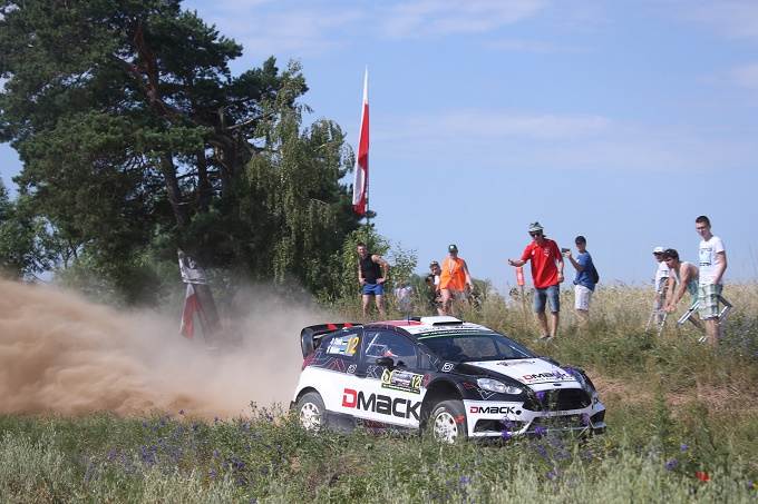 WRc – Sorpresa Tanak! Dopo 10 ps è al top in Polonia
