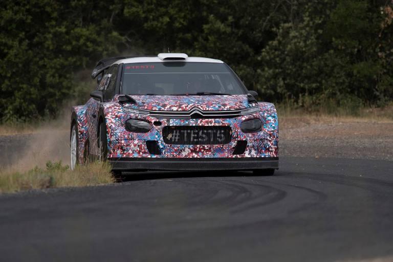 WRC – Test su asfalto per la Citroen C3