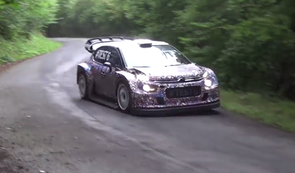WRC – Citroën C3 WRC Plus 2017: i test si spostano in Italia