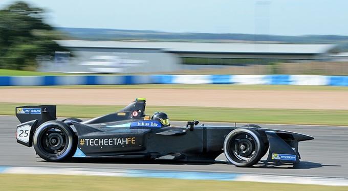 Formula E – Donington: Vergne abbatte il record sul giro con la monoposto della Techeetah!