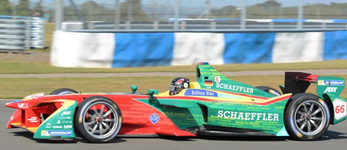 Formula E – Donington: Abt chiude al comando l'ultimo giorno ma è di Vergne il primato dei test