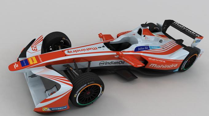 Formula E: Mahindra svela la livrea vincitrice del concorso #DrivenByDesign